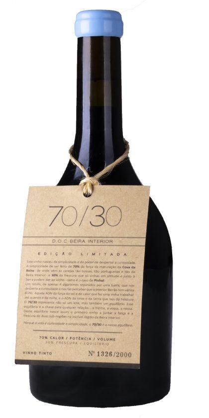 70/30 Vinho Tinto 2018 D.O.C. Beira Interior