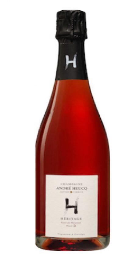 Champagne André HeucqHÉRITAGE Rosé de Meunier - Phase 1