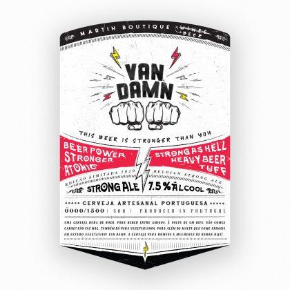 Van Damn Belgian Stong Ale Cerveja Artesanal